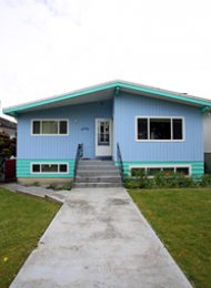 3 Bedroom Unfurnished House For Rent in East Vancouver. 4880 Commercial Street, Vancouver, BC, Canada.