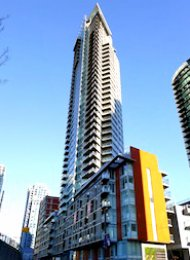 Luxury 2 Bedroom Unfurnished Apartment Rental at The Mark in Yaletown. 602 - 1372 Seymour Street, Vancouver, BC, Canada.