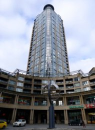 1 Bedroom Apartment For Rent at Paris Place in Downtown Vancouver. 2301 - 183 Keefer Place, Vancouver, BC, Canada.