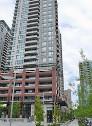 Yaletown Park 1 Bedroom Furnished Apartment Rental in Vancouver. 1801 - 977 Mainland Street, Vancouver, BC, Canada.