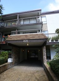 Woodland Place 1 Bedroom Unfurnished Apartment Rental in East Vancouver. 206 - 1515 East 5th Avenue, Vancouver, BC, Canada.