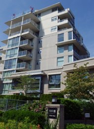 2 Bedroom Unfurnished Apartment Rental at Novo at Simon Fraser University. 407 - 9232 University Crescent, Burnaby, BC, Canada.
