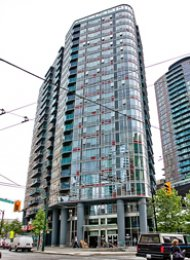 1 Bedroom Apartment For Rent at TV Towers in Downtown Vancouver. 309 - 788 Hamilton Street, Vancouver BC, Canada.
