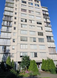 Fully Furnished Studio Rental at Horizon in Vancouver's West End. 305 - 1250 Burnaby Street, Vancouver, BC, Canada.
