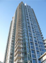 1 Bedroom Unfurnished Apartment Rental at Aquarius in Yaletown. 1805 - 1199 Marinaside Crescent, Vancouver, BC, Canada.