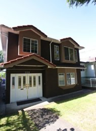 3 Bedroom Upper Level of House For Rent in Renfrew East Vancouver. 2218 East 6th Avenue, Vancouver, BC, Canada.