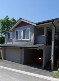 1 Bedroom Unfurnished Coach Home For Rent in West Coquitlam. 317 Blue Mountain Street, Coquitlam, BC, Canada.