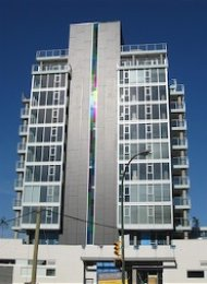 1 Bedroom Apartment For Rent at Stella in Mount Pleasant East Vancouver. 701 - 2770 Sophia Street, Vancouver, BC, Canada.