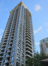 Unfurnished 2 Bedroom Apartment For Rent at The Bentley in Yaletown. 1006 - 1001 Homer Street, Vancouver, BC, Canada.