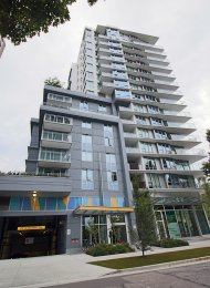 Furnished 1 Bedroom Apartment For Rent at Modern in Vancouver's West End. 505 - 1009 Harwood Street, Vancouver, BC, Canada.