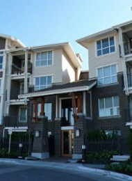 1 Bedroom Unfurnished Apartment at Macpherson Walk in Metrotown. 112 - 5788 Sidley Street, Burnaby, BC, Canada.