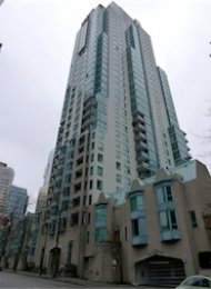 Unfurnished 2 Bedroom Apartment For Rent in Coal Harbour at Pointe Claire. 502 - 1238 Melville Street, Vancouver, BC, Canada.