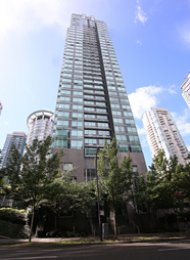 1 Bedroom Apartment For Rent at The Residences on Georgia in Coal Harbour. 505 - 1288 West Georgia Street, Vancouver, BC, Canada.