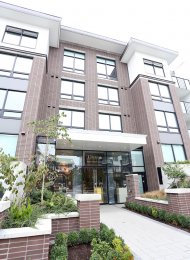 1 Bedroom Unfurnished Apartment For Rent at Omega in Richmond. 126 - 9388 Odlin Road, Richmond, BC, Canada.