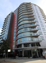 Coopers Pointe 2 Bedroom Unfurnished Luxury Apartment Rental in Yaletown. 1602 - 980 Cooperage Way, Vancouver, BC, Canada.