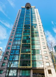 1 Bedroom Unfurnished Apartment For Rent at The Lions in Downtown Vancouver. 807 - 1367 Alberni Street, Vancouver, BC, Canada.