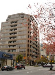 1 Bedroom Apartment Rental at Fortune House in Downtown Vancouver. 205 - 1010 Howe Street, Vancouver, BC, Canada.