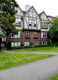 Unfurnished 2 Bedroom Apartment For Rent in Fairview at Devon Manor. 3 - 1255 West 12th Avenue, Vancouver, BC, Canada.