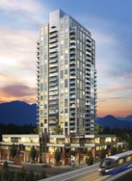 2 Bedroom Sub Penthouse For Rent at Evergreen in Coquitlam Centre. 2901 - 3007 Glen Drive, Coquitlam, BC, Canada.