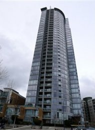QuayWest 2 Bedroom Furnished Apartment For Rent in Yaletown. 805 - 1033 Marinaside Crescent, Vancouver, BC, Canada.
