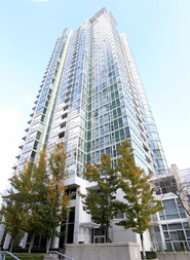1 Bedroom Unfurnished Apartment Rental at Marinaside Resort in Yaletown. 1505 - 193 Aquarius Mews, Vancouver, BC, Canada.