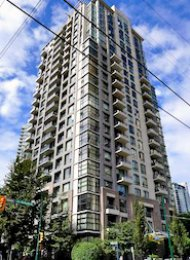 1 Bedroom Unfurnished Apartment For Rent at Oscar in Yaletown. 707 - 1295 Richards Street, Vancouver, BC, Canada.