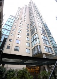 1 Bedroom Furnished Apartment Rental at City Crest in Yaletown. 1204 - 1155 Homer Street, Vancouver, BC, Canada.