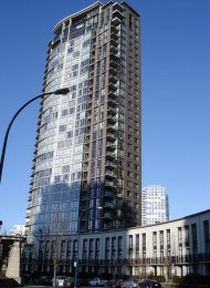 Two Park West Luxury Furnished Apartment For Rent in Yaletown. 1101 - 583 Beach Crescent, Vancouver, BC, Canada.