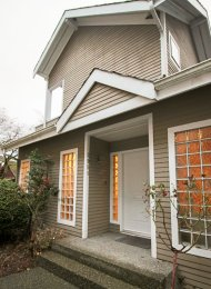 Furnished 2 Bedroom Carriage House in Arbutus on Vancouver's Westside. 2951 Cypress Street, Vancouver, BC, Canada.