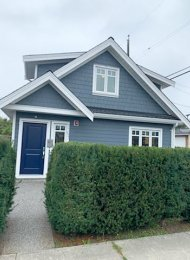 Modern 1 Bedroom Unfurnished Laneway House For Rent in Riley Park, East Vancouver. 5393 Prince Albert Street, Vancouver, BC, Canada.