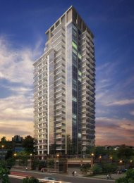 Unfurnished 1 Bedroom Apartment For Rent at Viceroy in New Westminster. 907 - 608 Belmont Street, New Westminster, BC, Canada.