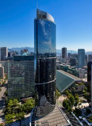 One Wall Centre Luxury 2 Bed Apartment Rental in Downtown Vancouver. 4101 - 938 Nelson Street, Vancouver, BC, Canada.