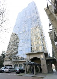 Pacific Landmark 2 Bedroom Unfurnished Apartment For Rent in Yaletown. 1601 - 950 Cambie Street, Vancouver, BC, Canada.