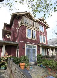 3 Bedroom Townhouse For Rent in Fairview on Vancouver's Westside. 837 West 14th Avenue, Vancouver, BC, Canada.