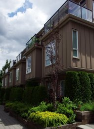 3 Bedroom Unfurnished Townhouse For Rent at Laurel in Burnaby. 11 - 3788 Laurel Street, Burnaby, BC, Canada.