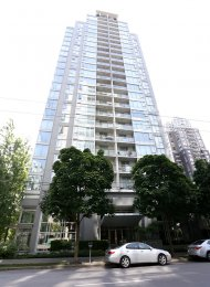 2 Bedroom Fully Furnished Apartment Rental at The Gallery in Yaletown. 2107 - 1010 Richards Street, Vancouver, BC, Canada.