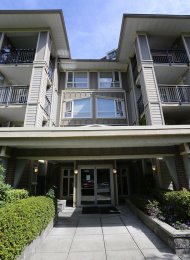 Ground Level 1 Bedroom Unfurnished Apartment For Rent at Montage in Collingwood, East Vancouver. 105 - 3575 Euclid Avenue, Vancouver, BC, Canada.