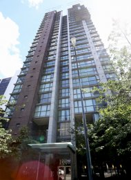 Unfurnished 2 Bedroom Apartment For Rent at The Canadian in Downtown Vancouver. 509 - 1068 Hornby Street, Vancouver, BC, Canada.