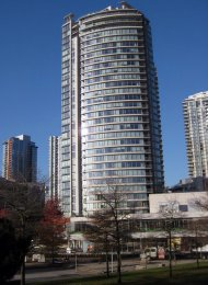 5th Floor Unfurnished 1 Bedroom & Flex Apartment For Rent at Firenze in Downtown Vancouver. 503 - 688 Abbott Street, Vancouver, BC, Canada.