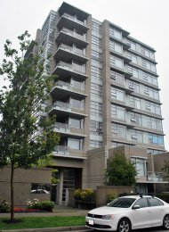 SFU Unfurnished 2 Bedroom Apartment For Rent at Aurora in Burnaby. 607 - 9266 University Crescent, Burnaby, BC, Canada.