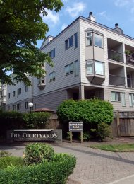 The Courtyards 2 Bedroom Apartment For Rent in New Westminster. 313 - 737 Hamilton Street, New Westminster, BC, Canada.