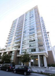 1 Bedroom Unfurnished Apartment For Rent at Lido in Southeast False Creek. 809 - 110 Switchmen Street, Vancouver, BC, Canada.