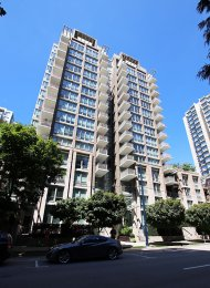 Furnished 1 Bedroom Apartment For Rent at The Donovan in Yaletown. 503 - 1055 Richards Street, Vancouver, BC, Canada.
