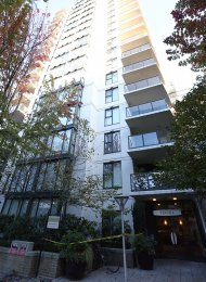 2 Bedroom Apartment For Rent at Verona on Vancouver's Westside. 206 - 1483 West 7th Avenue, Vancouver, BC, Canada.