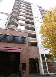 Fully Furnished Apartment Rental at Hornby Court in Downtown Vancouver. 408 - 1330 Hornby Street, Vancouver, BC, Canada.