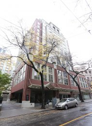 1 Bedroom Apartment Rental at Eight One Nine in Downtown Vancouver. 605 - 819 Hamilton Street, Vancouver, BC, Canada.