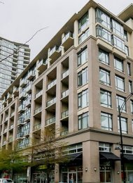 1 Bedroom Unfurnished Apartment For Rent at The Room in Port Moody. 511 - 121 Brew Street, Port Moody, BC, Canada.