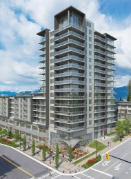 CentreBlock Unfurnished 1 Bedroom Apartment For Rent at SFU in Burnaby. 1406 - 9393 Tower Road, Burnaby, BC, Canada.