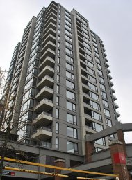 1 Bedroom Unfurnished Apartment For Rent at Tandem in Brentwood. 901 - 4118 Dawson Street, Burnaby, BC, Canada.