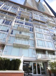 Furnished 1 Bed Apartment For Rent at Central in Southeast False Creek. 306 - 1618 Quebec Street, Vancouver, BC, Canada.